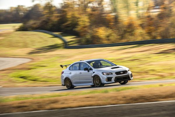 Subaru Introduces Powerful STI S209