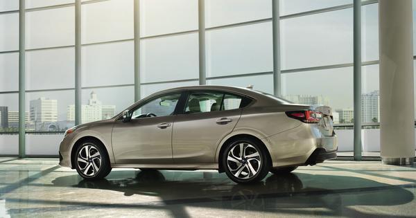 Redesigned 2020 Subaru Legacy