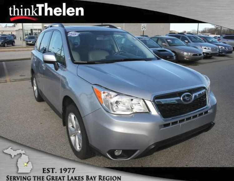 CPO 2016 Subaru Forester For Sale in Bay City