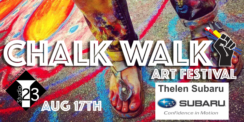 Join Thelen Subaru For the Chalk Walk Art Festival in Bay City