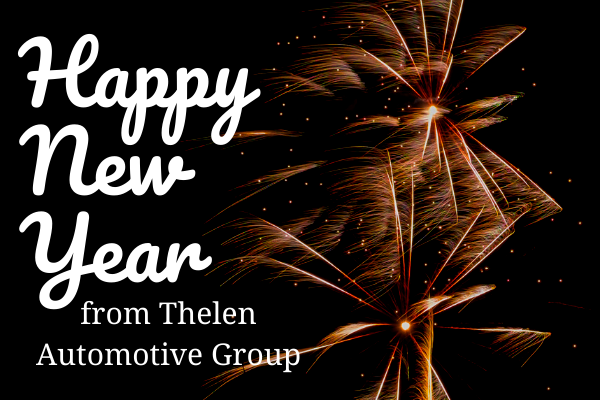 Happy New Year Wishes from Thelen Subaru in Bay City