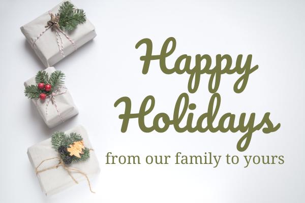 Happy Holidays from Thelen Subaru